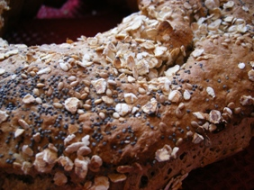 Pain aux Flocons d'Avoine, Graines de Sésame & Pavot