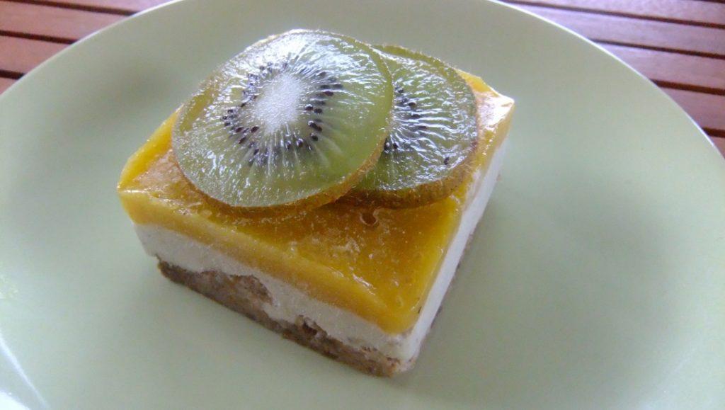 Tarte Mangue Kiwi