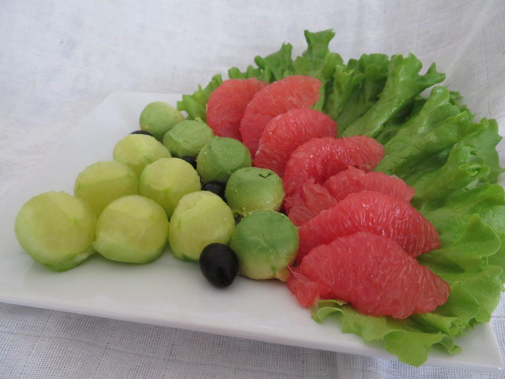 Avocat & Concombre au Pamplemousse