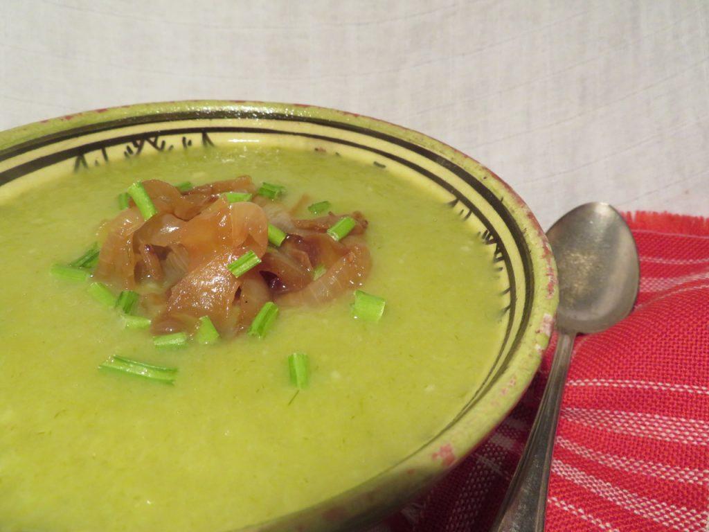 Soupe Poireaux Oignons