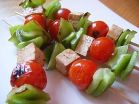 Brochettes de Tofu