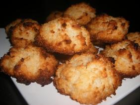Bouchées à la noix de coco