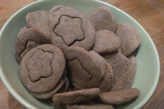 Sablés au Sarrasin (sans gluten)