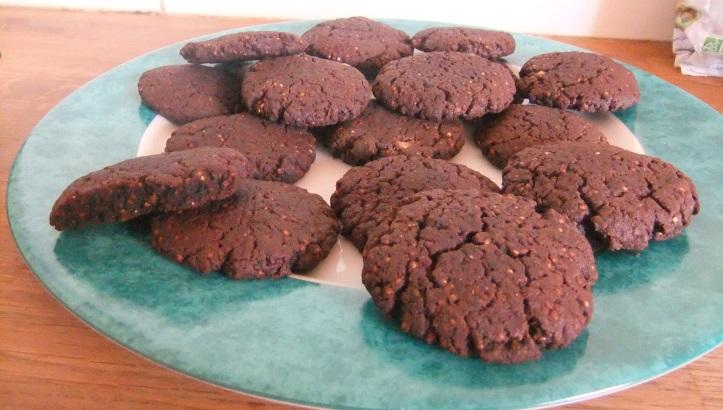 Cookies sans gluten au Duo de Quinoas