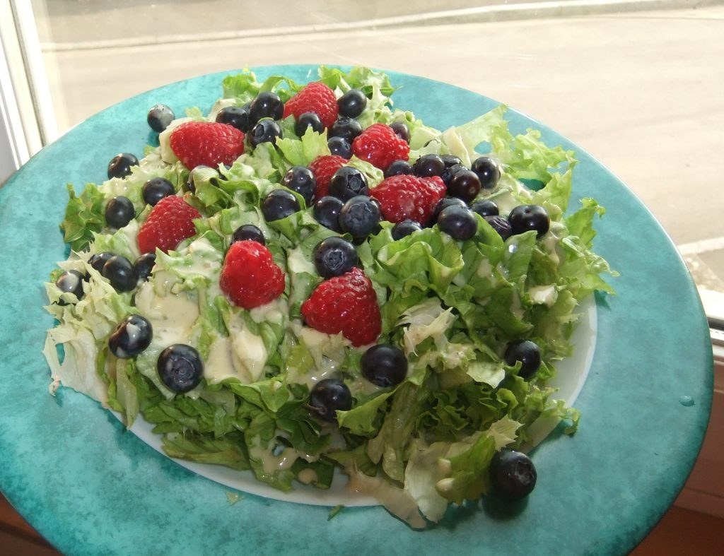 Salade aux Fruits Rouges