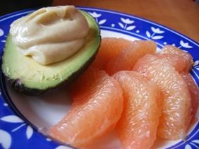 Avocat – Pamplemousse à la Crème d'Amande