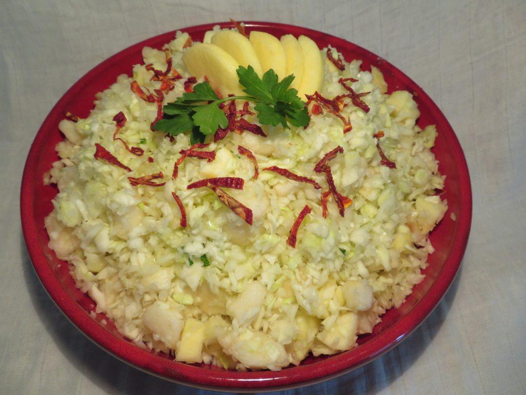 Salade de Chou aux Fruits d'Automne