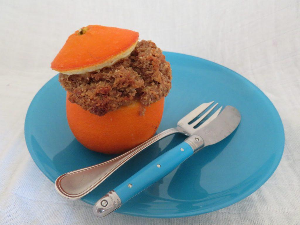 Petits Gâteaux en Coque d'Orange