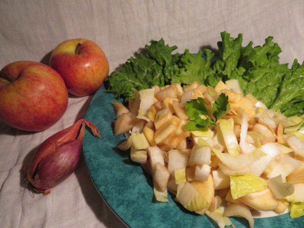 Salade d'Endives, Pommes et Poires