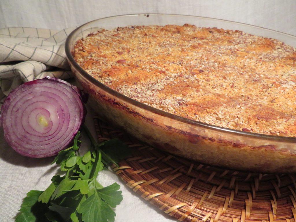 Gratin de Chou-Fleur au Riz & Raisins