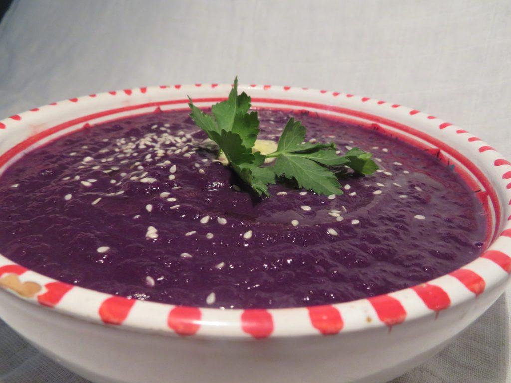 Soupe de Chou Rouge à la Muscade
