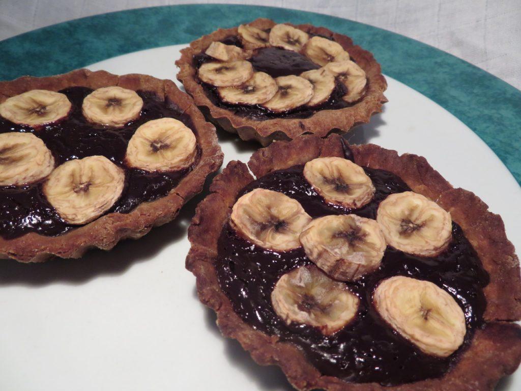 Tartelettes Banane Chocolat
