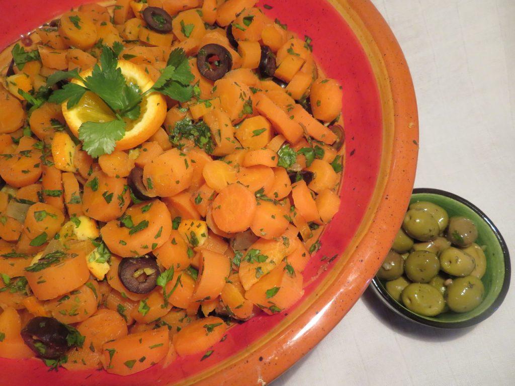 Salade de Carottes à l'Algérienne