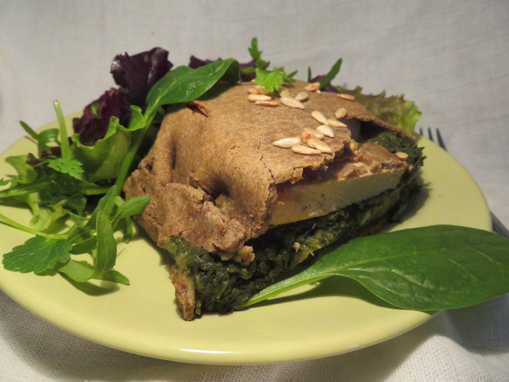 Chausson Epinards Tofu