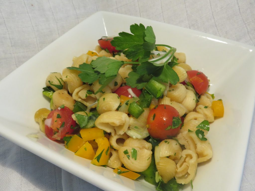 Salade de Pâtes aux Tomates-Cerises & Poivrons