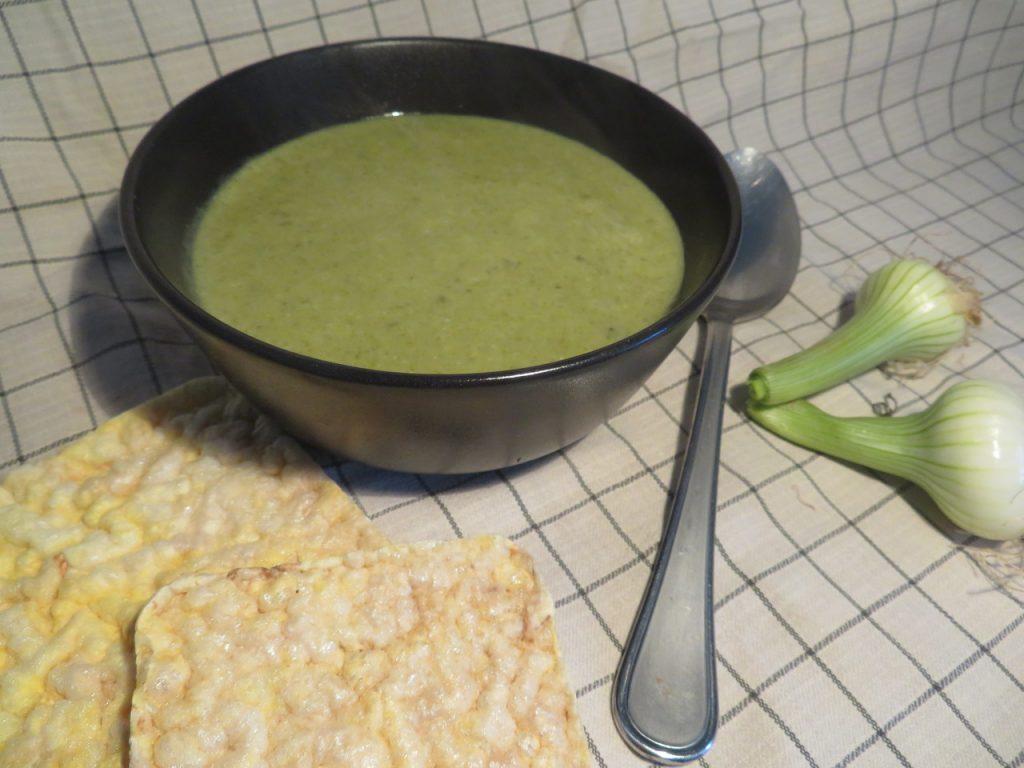 Soupe de Cresson à la Purée d'Amande