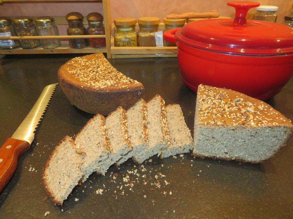 Pain aux Graines sans Farine (sans gluten)