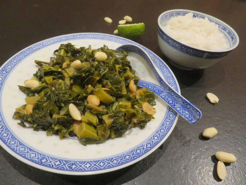 Feuilles de Chou-Fleur à la Vietnamienne