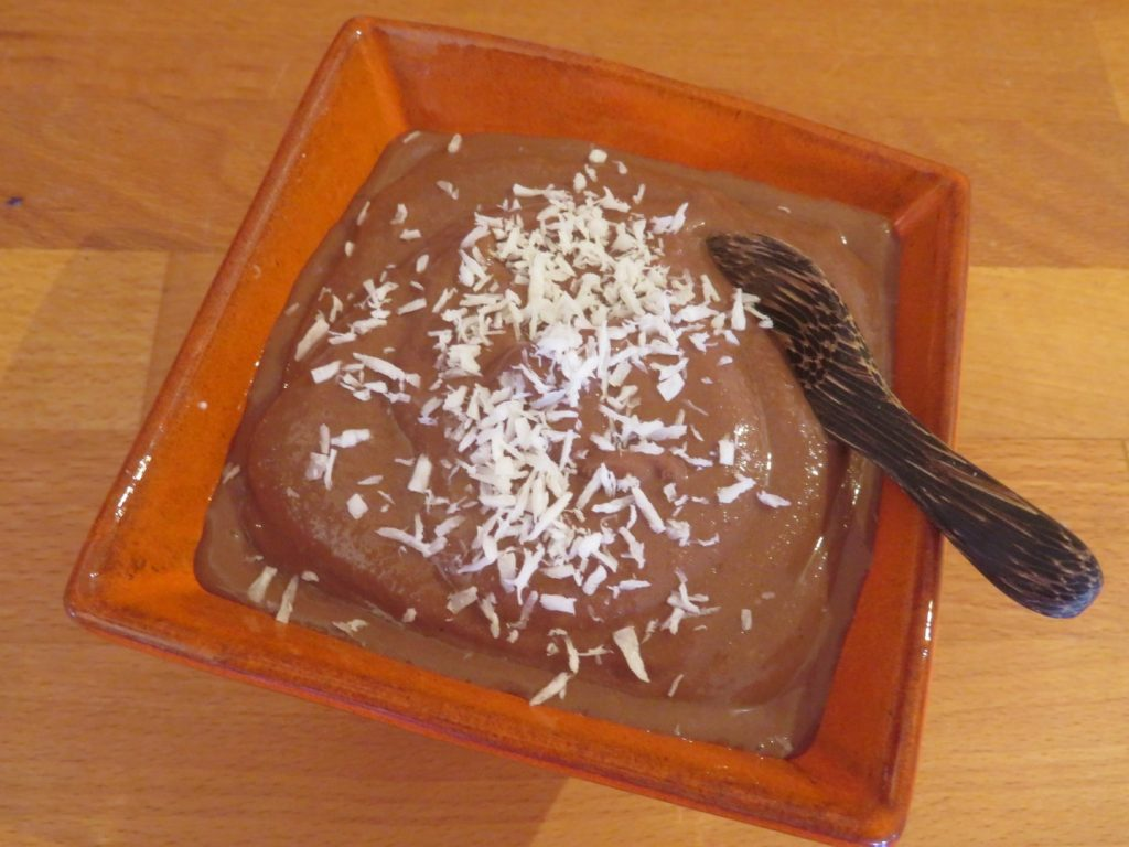 Crème Glacée au Chocolat (sans lactose et sans sucre !)