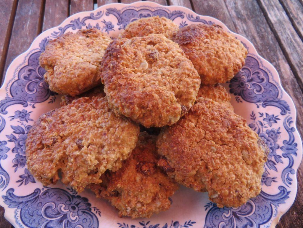 Biscuits au Miel et Flocons de Sarrasin (sans Gluten)