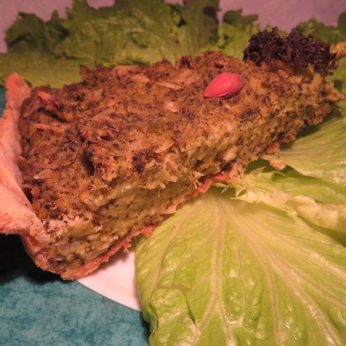 Tarte brocoli amandes (9)