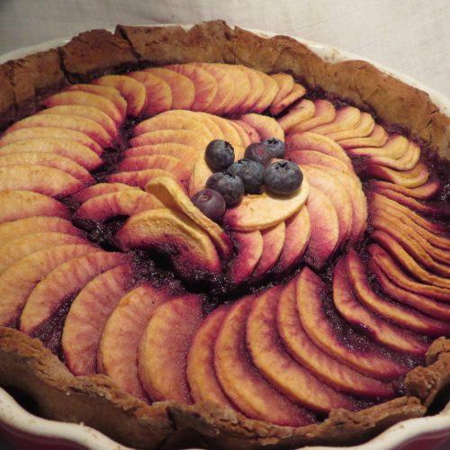 Trate pommes myrtilles (2)
